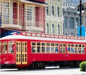 Trolley in Louisiana