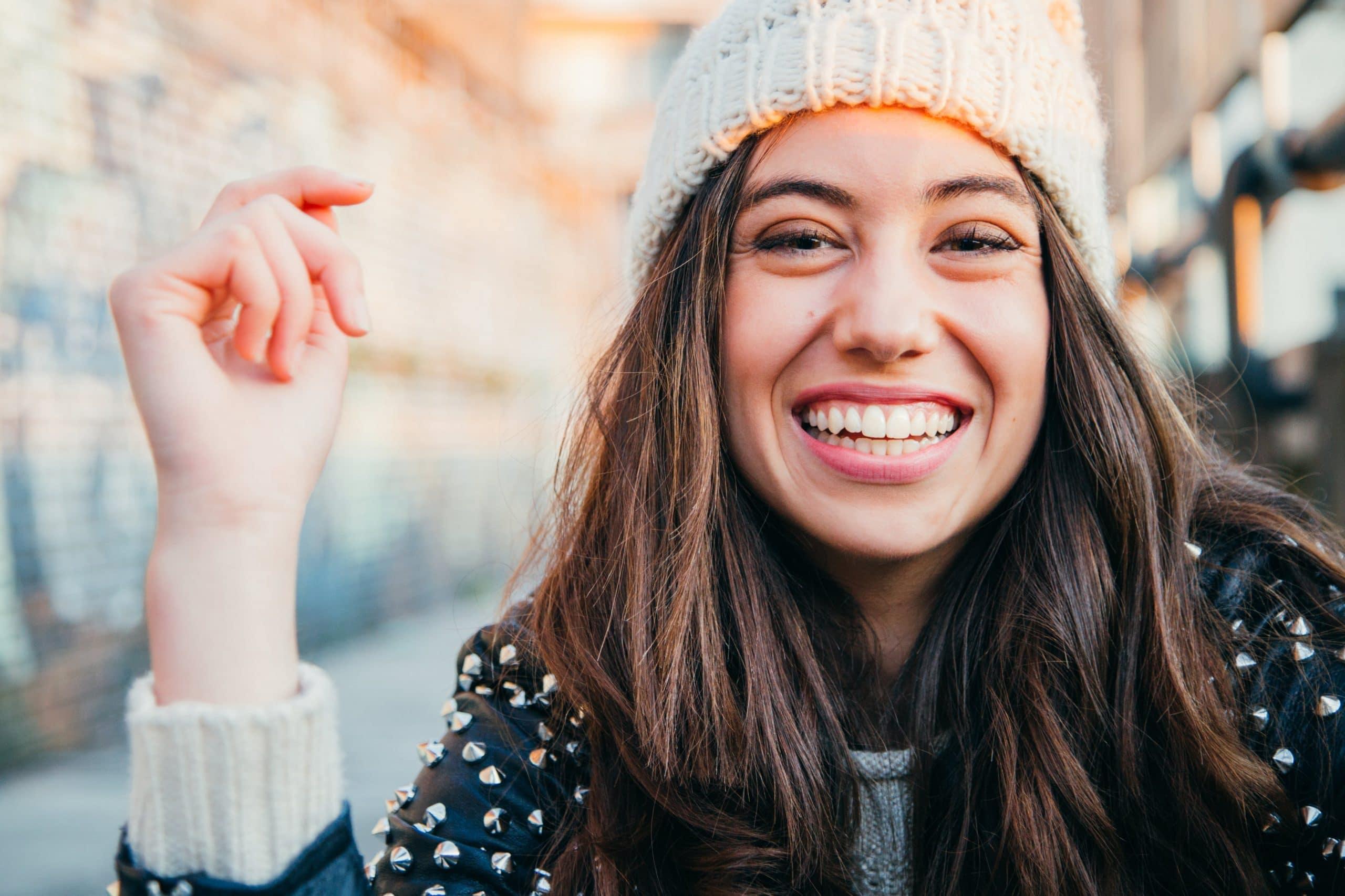 Girl smiling on camera - Advantage Medical Professionals